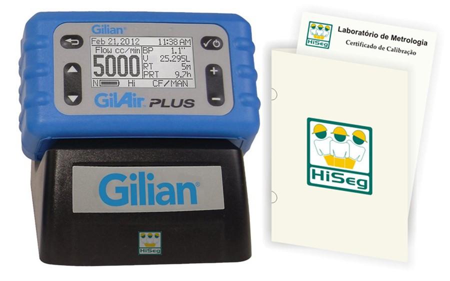 Bomba de amostragem digital programável, modelo Gilair Plus