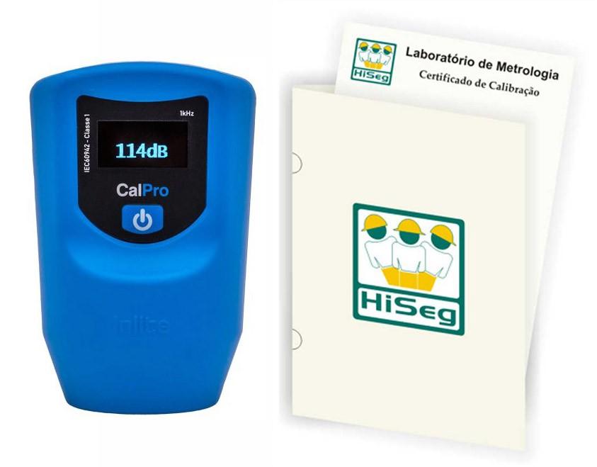 Calibrador de Ruído Digital, Classe 1, modelo CalPro