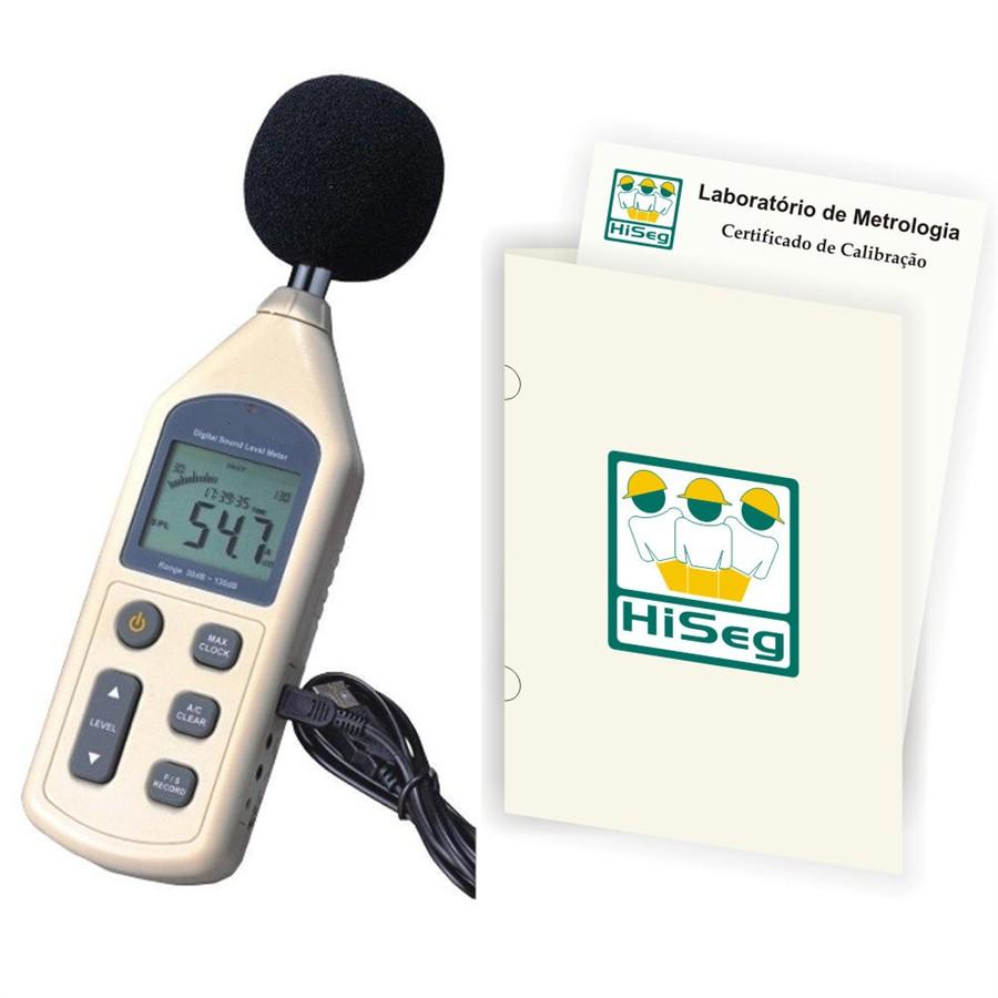 KR843 - Decibelímetro Digital com Datalogger, saída USB e software com certificado