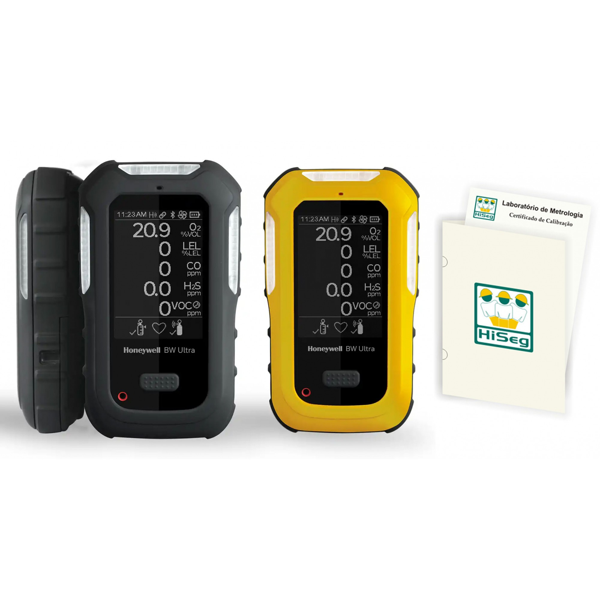 Detector Multigás Honeywell BW™ Ultra (5 gases)
