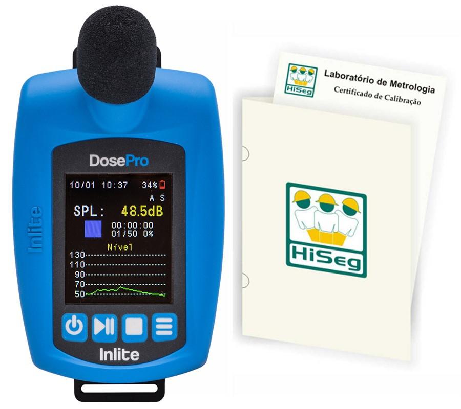 Dosímetro de ruído digital Triplo Canal, sem fio, modelo DosePro