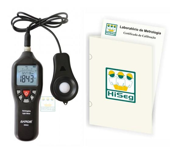 Luxímetro Digital com Datalogger (memória para 20.000 leituras), modelo KR852