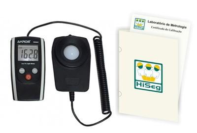 KR802 - Luxímetro Digital Portátil (0 - 200.000 lux) com certificado