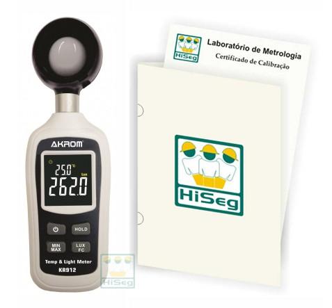 Luxímetro Digital Portátil (0 - 200.000 lux), modelo KR912
