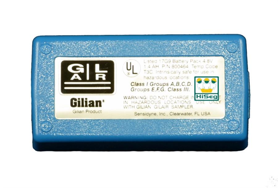 Manutenção na bateria da bomba de amostragem modelo BDX-II e Gilair 3