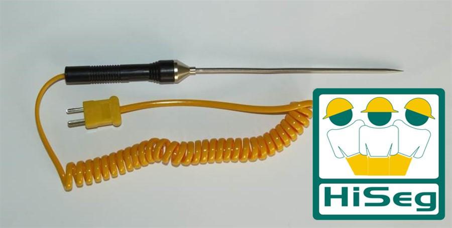 KR02P - Sonda de Temperatura para penetração com Termopar tipo K