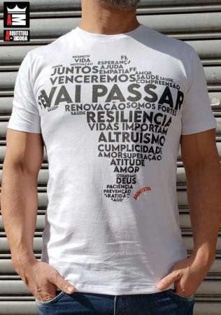 Camiseta Arquitetura da Moda estampa: Vai passar
