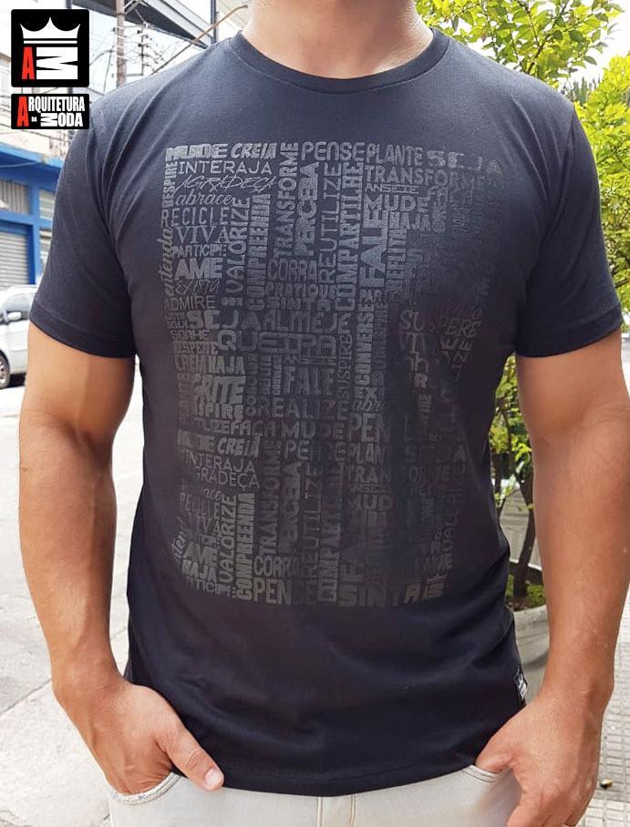 Camiseta Arquitetura da Moda estampa: Positividade