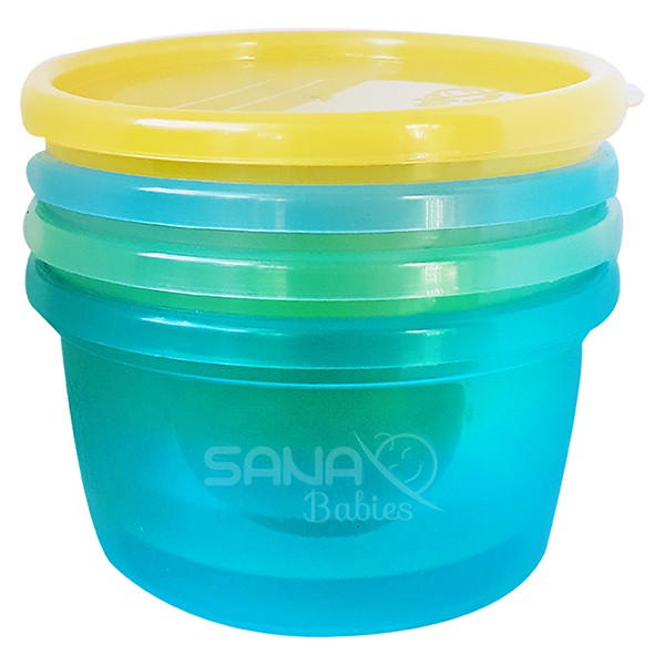Potes Multiuso para Bebês - 236 ML Sana Babies