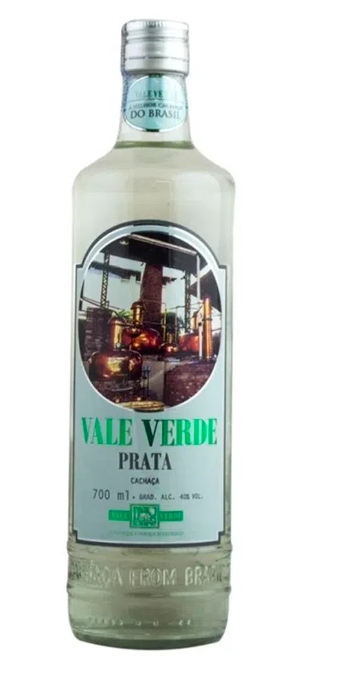 Cachaca Vale Verde Prata 700ml