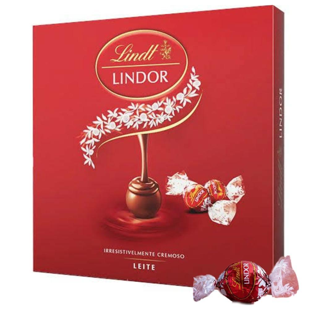 Chocolate Suíço Milk Balls Lindor Lindt 300g