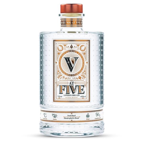 Gin At Five 750ml