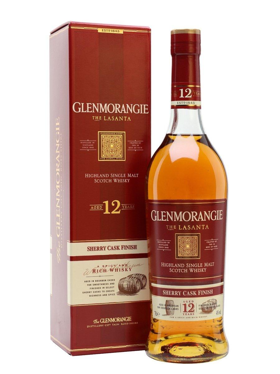 Whisky Glenmorangie Lasanta 12 anos 750ml