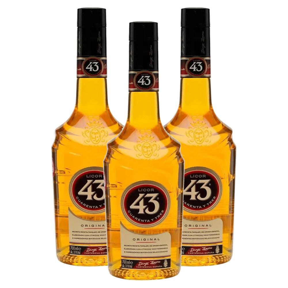 Kit 3 Licores 43 (Cuarenta y Tres) 700 ml