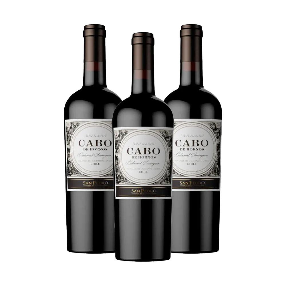 Kit 3 Vinhos Cabo de Hornos 750ml
