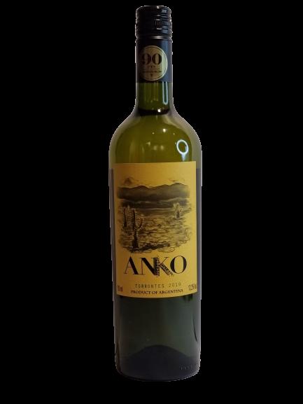 Kit 6x Vinho Branco Arg Anko Cafayate Torrontes 750ml