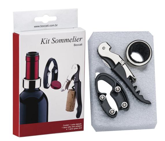 Kit Sommelier Econômico Boccati