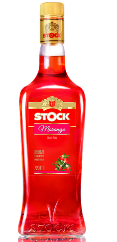 Licor Stock Morango 720ml