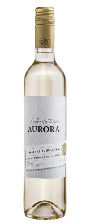Vinho Aurora Colheita Tardia Branco 500ml