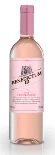 Vinho Benedictum III Rosé 750ml