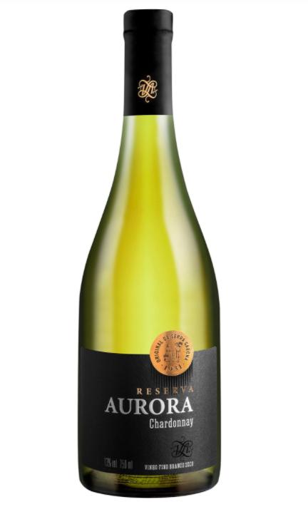 Vinho Branco Aurora Reserva Chardonnay 750ml