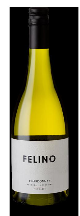 Vinho Branco Cobos Felino Chardonnay 2018 750ml