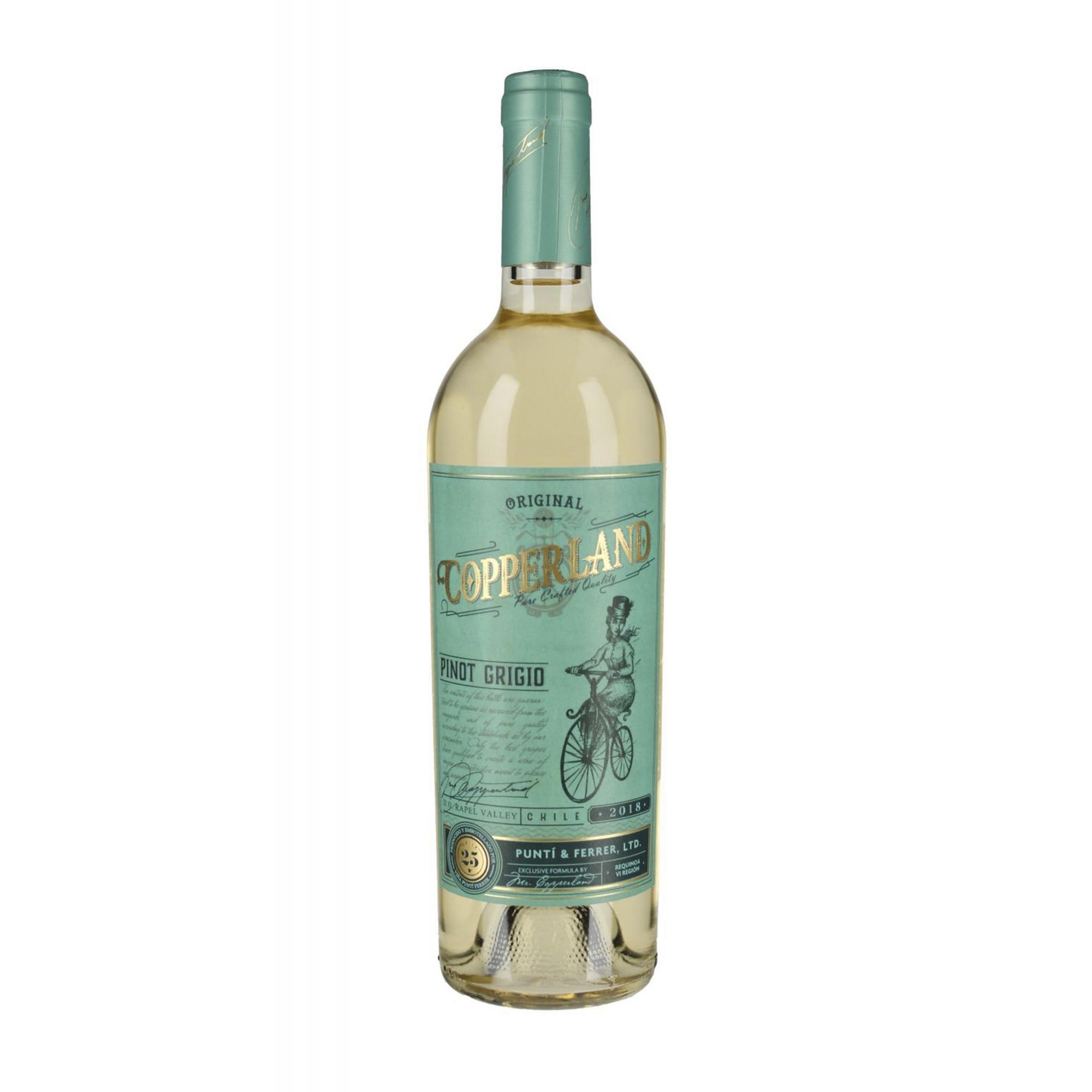 Vinho Branco Copperland Pinot Grigio 750ml