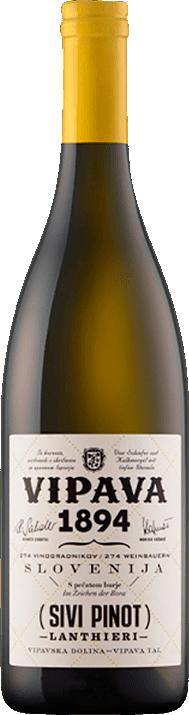 Vinho Branco Vipava Lanthieri Sivi Pinot 750ml