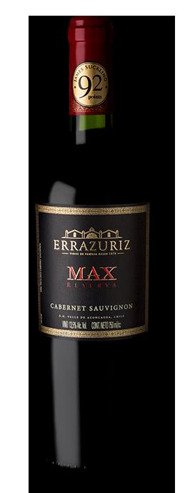 Vinho Tinto Errazuriz Max Reserva Cabernet Sauvignon 750ml