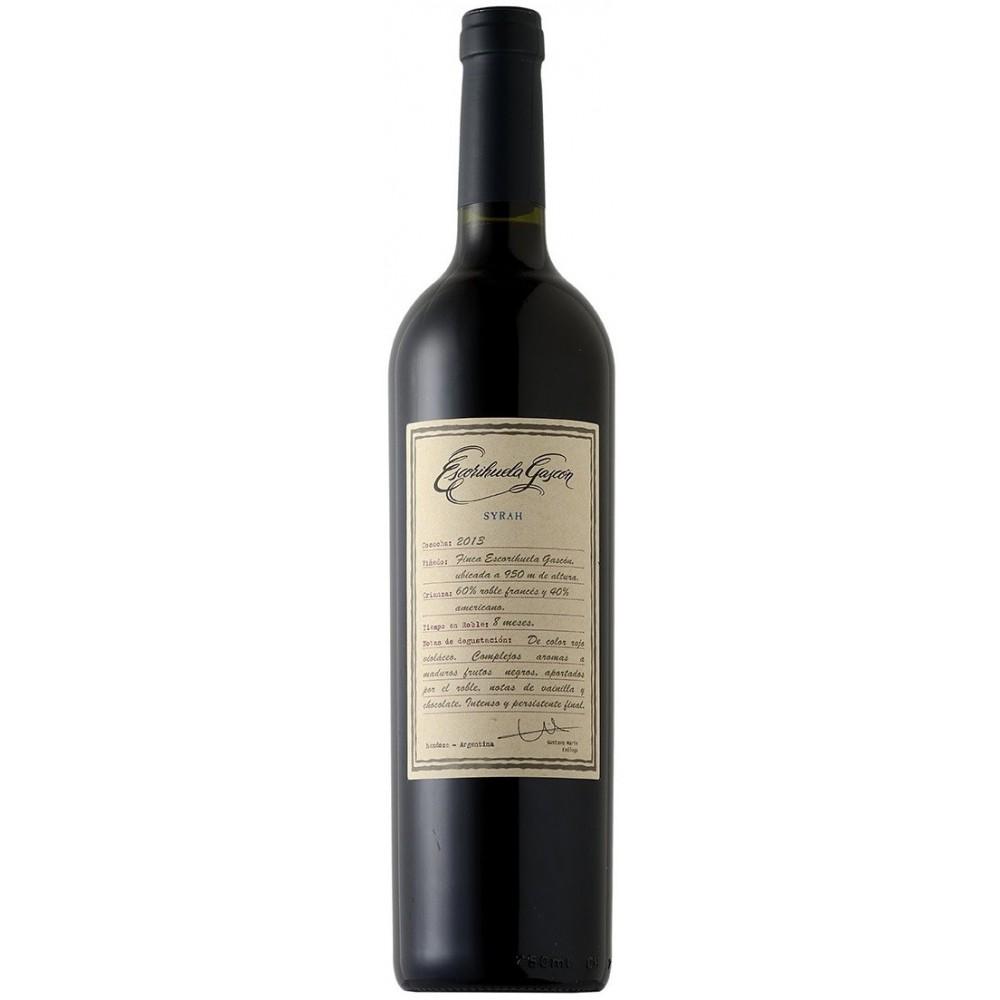 Vinho Tinto Escorihuela Gascón Syrah 2014 750ml