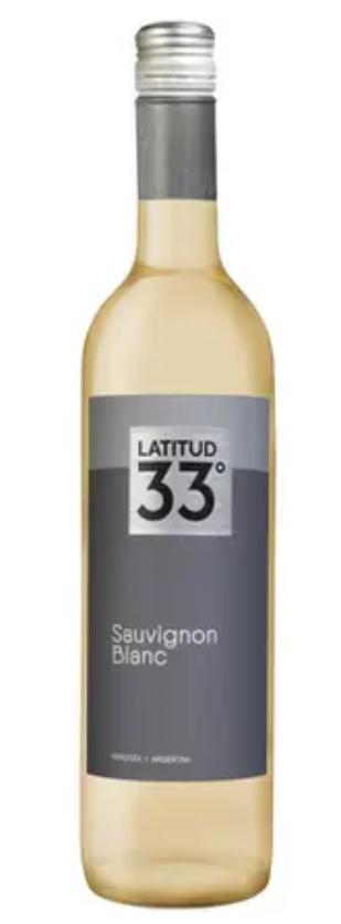 Vinho Branco Latitud 33 Sauvignon Blanc 750ml