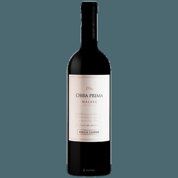 Vinho Tinto Obra Prima Malbec 750ml