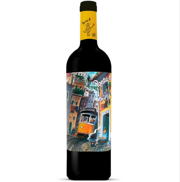 Vinho Tinto Português Porta 6 750ml