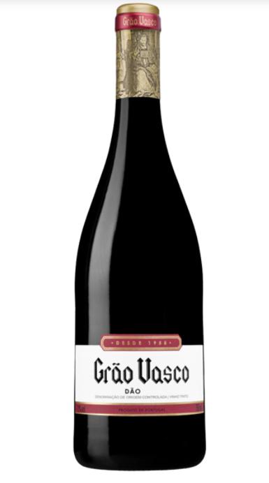 Vinho Português Tinto Dão Grão Vasco Garrafa 750ml