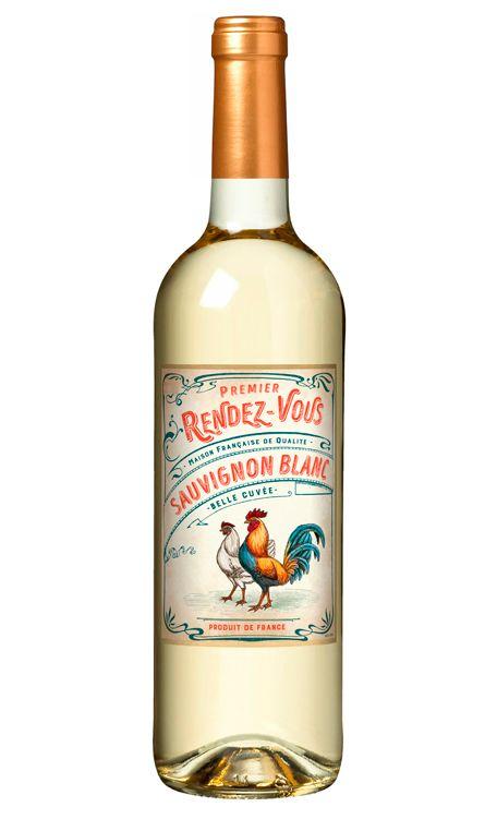 Vinho Rendez-Vous Sauvignon Blanc Branco 750ml