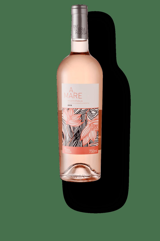 Vinho Rose Dai Terra Rossa A.Mare Rosato Puglia IGP 750ml