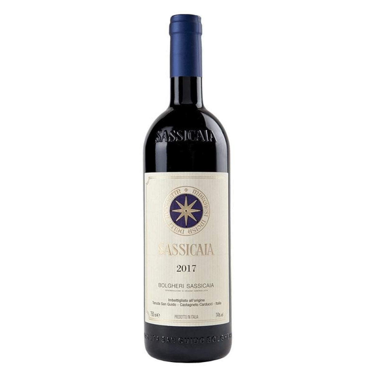 Vinho Sassicaia DOC Tenuta San Guido 2017 750ml
