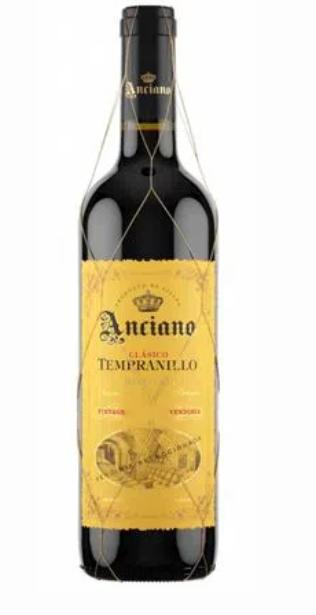 Vinho Tinto Anciano Classico Tempranillo 750ml