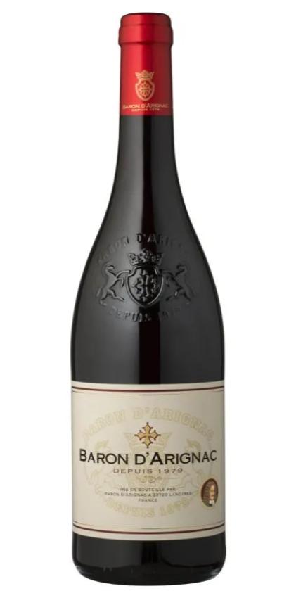 Vinho Tinto Baron d'Arignac 750ml