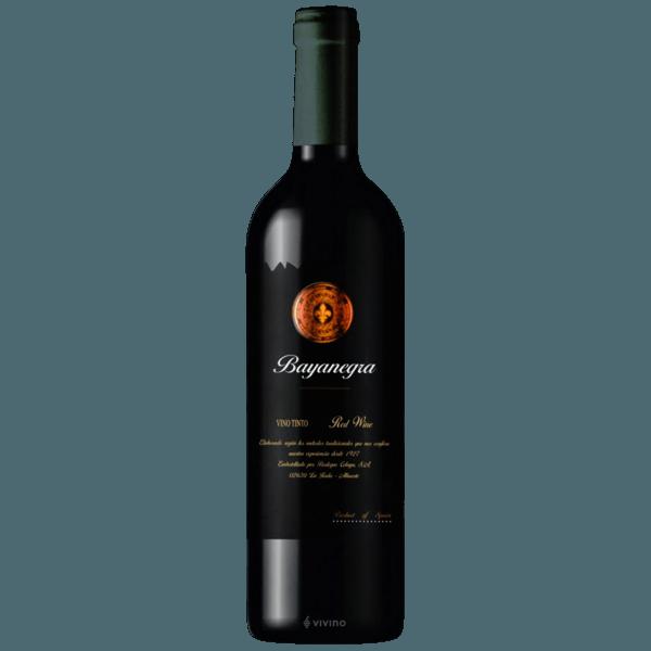 Vinho Tinto Bayanegra Tempranillo Elegance Black Label 750ml