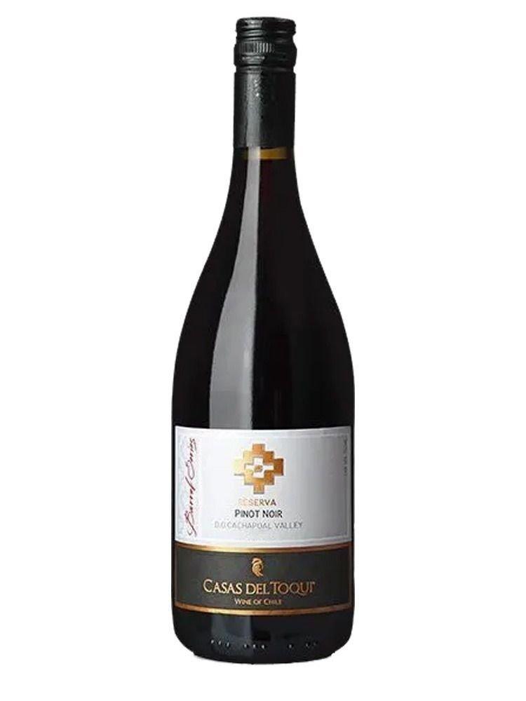 Vinho Tinto Casas Del Toqui Barrel Series Res Pinot Noir 750ml.