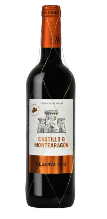 Vinho Tinto Castillo de Montearagon Reserva 750ml