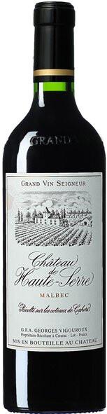 Vinho Tinto Château de Haute Serre Cahors AOC 2014 750ml