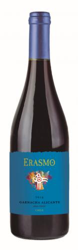 Vinho Tinto Erasmo D.O. Maule Garnacha Alicante  700ml
