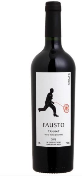 Vinho Tinto Fausto Tannat 750ml