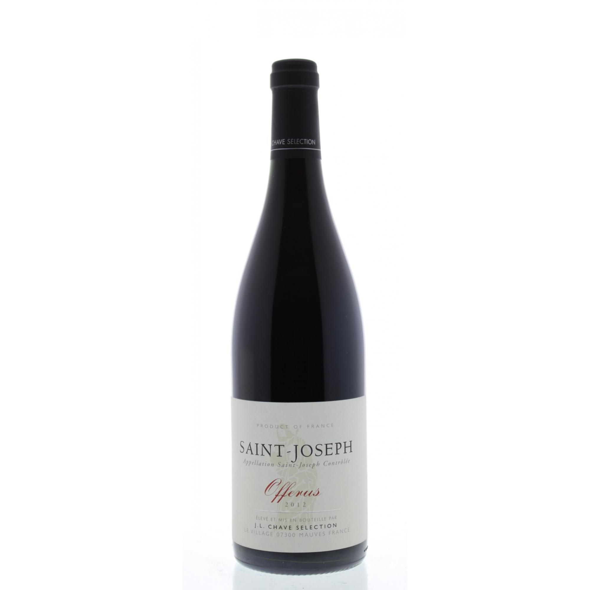 Vinho Tinto Jean Louis Chave Selection Saint Joseph Offerus 2012 750ml