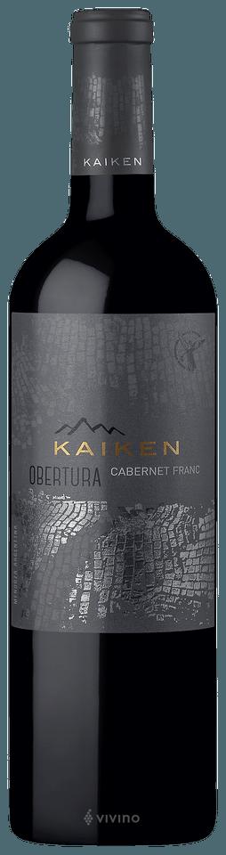 Vinho Tinto Kaiken Obertura Cabernet Franc 750ml