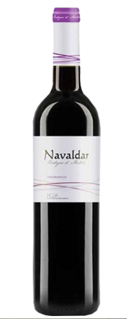 Vinho Tinto Navaldar Rioja Tempranillo 750ml