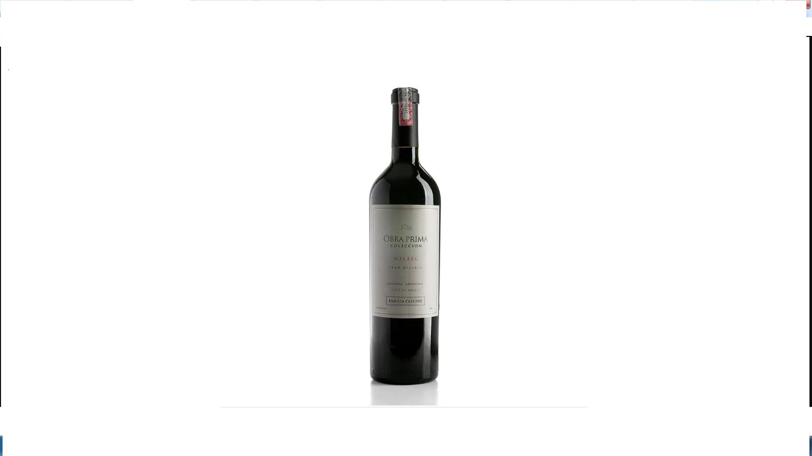 Vinho Tinto Obra Prima Reserva Malbec 750ml