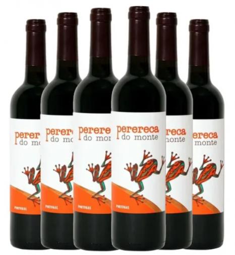 Vinho Tinto Português Perereca Do Monte - Kit Com 6 Unidades
